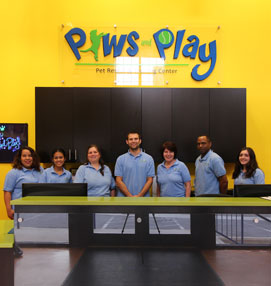 Paws and Play Pet Resort Team